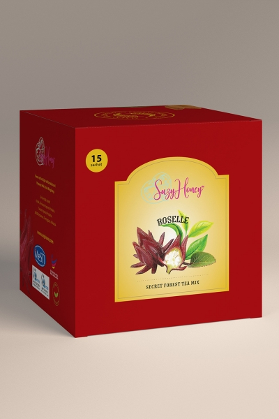 Secret Forest Tea Mix with Roselle (15 teabags)