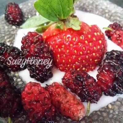 Resepi Pudding Chia Seed